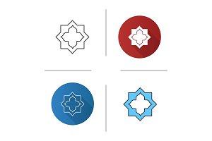 Islamic star icon