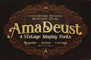 AmaDeust - Display Font