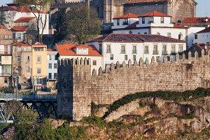 Fernandina Old City Wall in Porto
