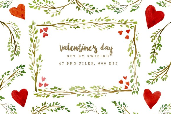Valentines Day Frames And Borders Illustrations Creative Market