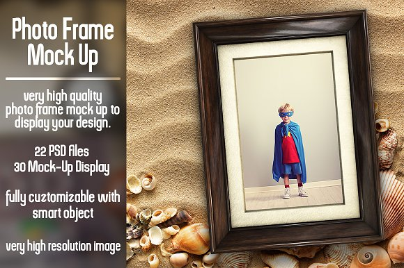 Photo Frame Mock Up