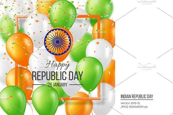 Happy Indian Republic day celebratio