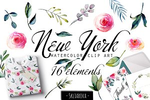 """New York"". Roses collection."