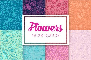 Floral patterns collection