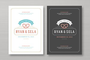 Save the Date Card Design