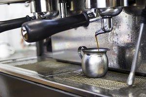 Espresso from espresso machine
