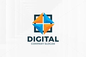 Digital Logo Template