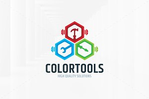Color Tools Logo Template