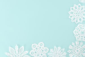 decorative christmas snowflakes