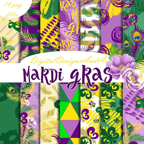 Mardi Gras Paper