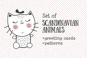Scandinavian nursery set
