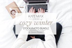 Cozy Winter Stock Photo Bundle