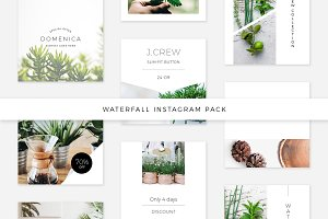 Waterfall Instagram Pack