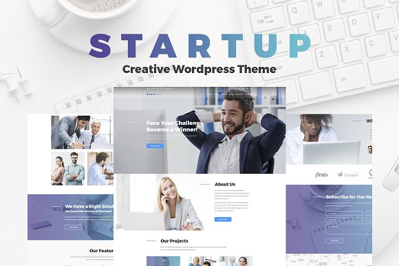 Startup - Company One Page