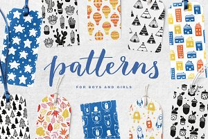 51 kids patterns, for boys & girls!