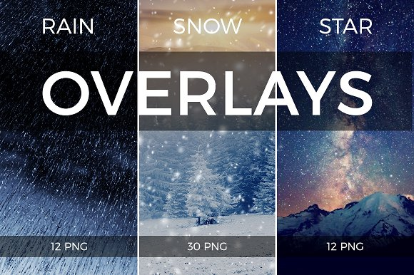 Overlays Mini Bundle 3 In 1