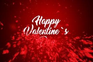 Happy Valentine's Day Animation