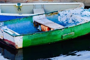 Colorful Dinghy