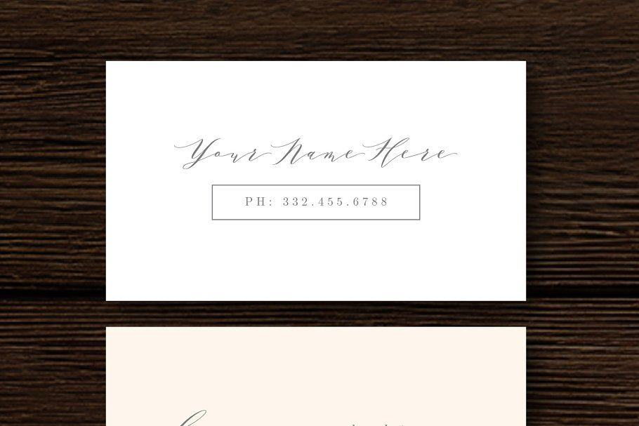 Fine-Art Business Card Template - Business Card Templates | Creative ...