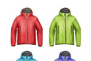 Set of unisex jackets
