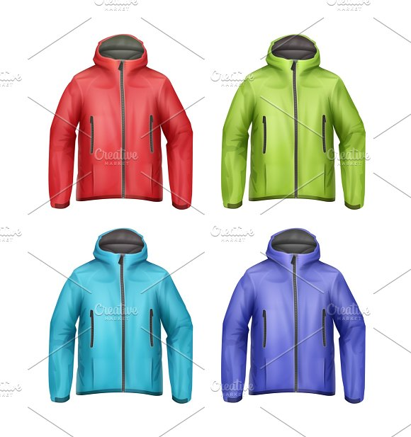 Set of unisex jackets
