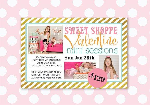 Sweet Shoppe Valentine Mini Session