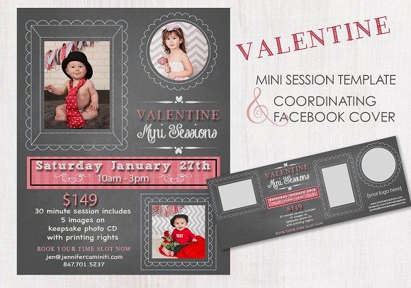 Chalk Valentine Mini Photo Session