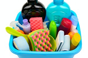 Detergents for bathroom and kitchen