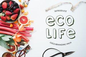 Eco life - logo branding pack