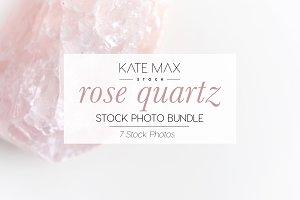 Rose Quartz Stock Photo Bundle