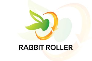 rabbitroller – Logo Template