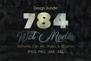 Wet Media Design Bundle