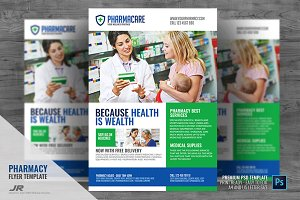 Medical Pharmacy Flyer Design
