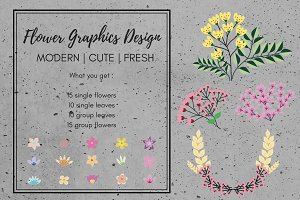 Fresh Floral Graphic Design