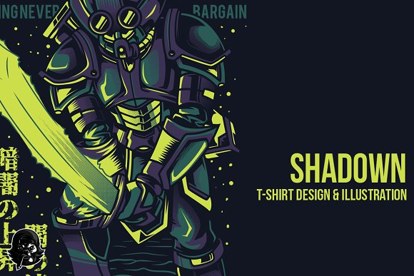 Shadown Illustration