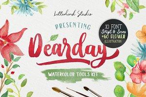 DearDay Watercolor Toolbox