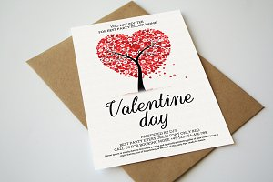 Full of Hearts Valentine Day Card