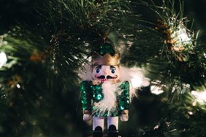 Nutcracker Christmas Tree Ornament