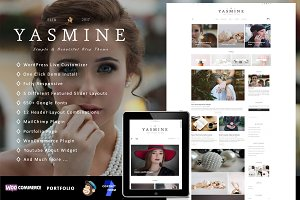 50% OFF Yasmine - Elegant Theme