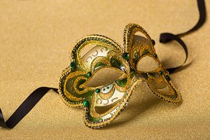 elegant carnival mask
