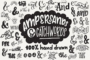 50% Off! Ampersands and Catchwords