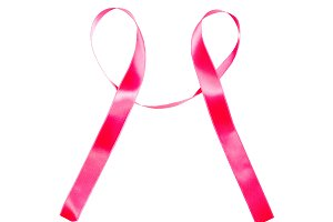 World Cancer Day red ribbon