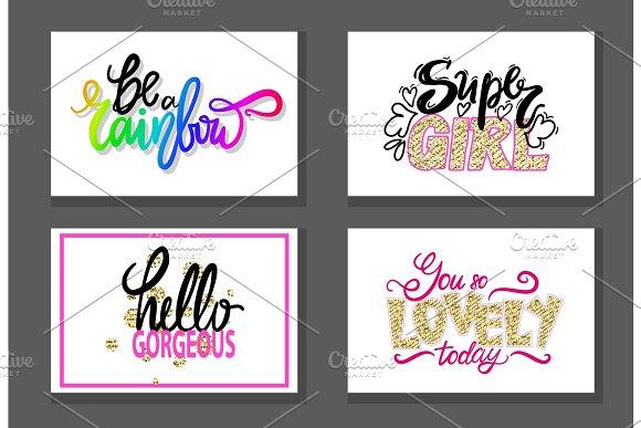 Colorful Graffiti Fonts Vector Illustration Slogan