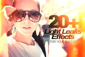 20+ Light Leaks for Your Photos