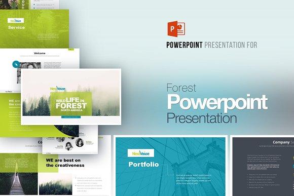 Forest Powerpoint Presentation