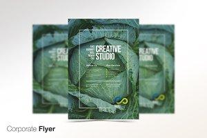 Retro Green Flyer