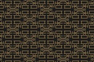 Seamless pattern, geometric. Asian