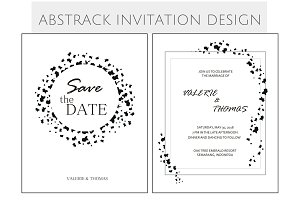 BLACK & WHITE INVITATION