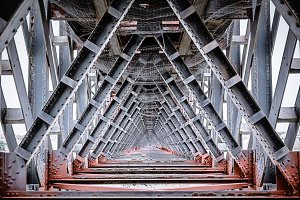 iron bridge inside view