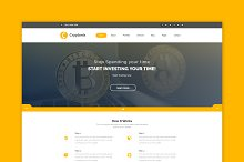 Cryptonix - Cryptocurrency Template